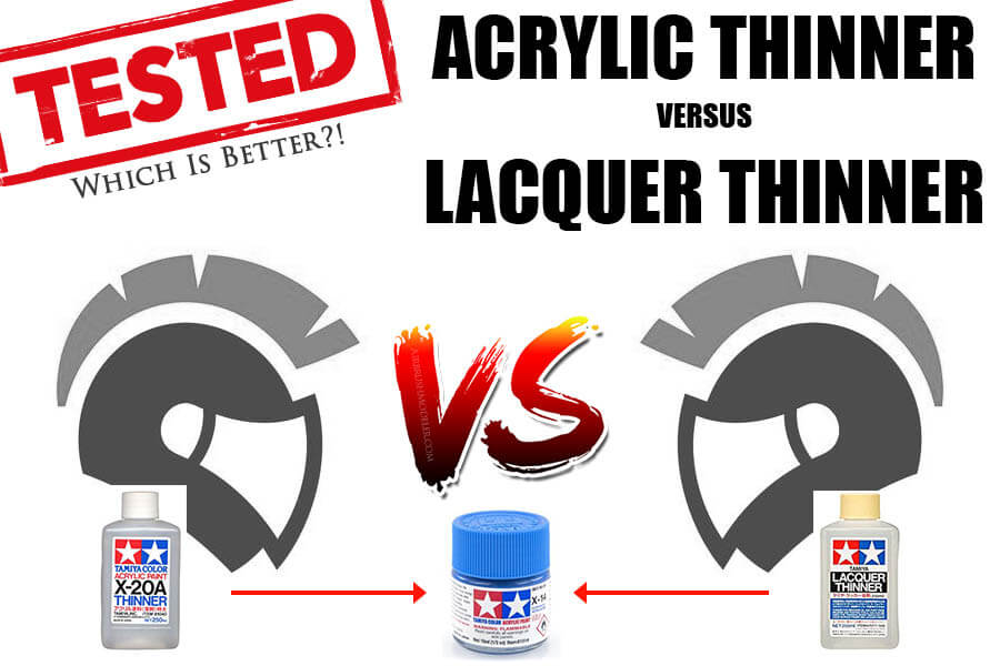 Tamiya Acrylic With Lacquer Thinner